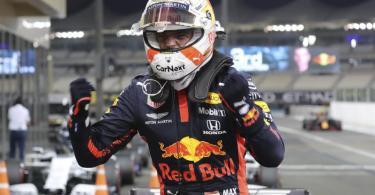 Mit Max Verstappen startet erstmals seit 2013 ein Nicht-Mercedes-Pilot in Abu Dhabi von der Pole-Position. Foto: Kamran Jebreili/Pool AP/dpa