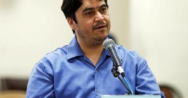 Der iranische Journalist und Blogger Ruhollah Sam ist am 12. Dezember hingerichtet worden. Damit ist erstmals seit 30 Jahren die Todesstrafe an einem Medienschaffenden vollstreckt worden. Foto: Ali Shirband/Mizan News Agency/dpa