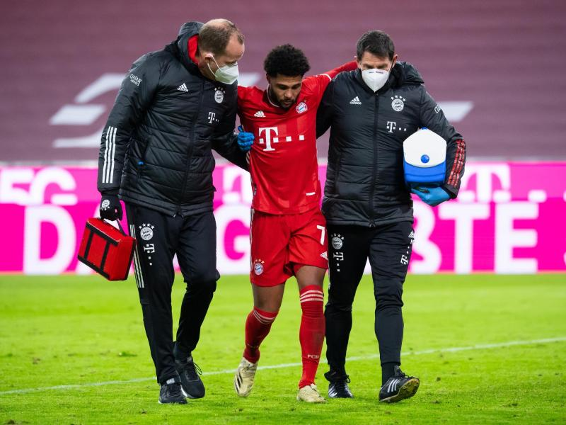 Serge Gnabry fehlt den Münchnern in Gladbach. Foto: Sven Hoppe/dpa