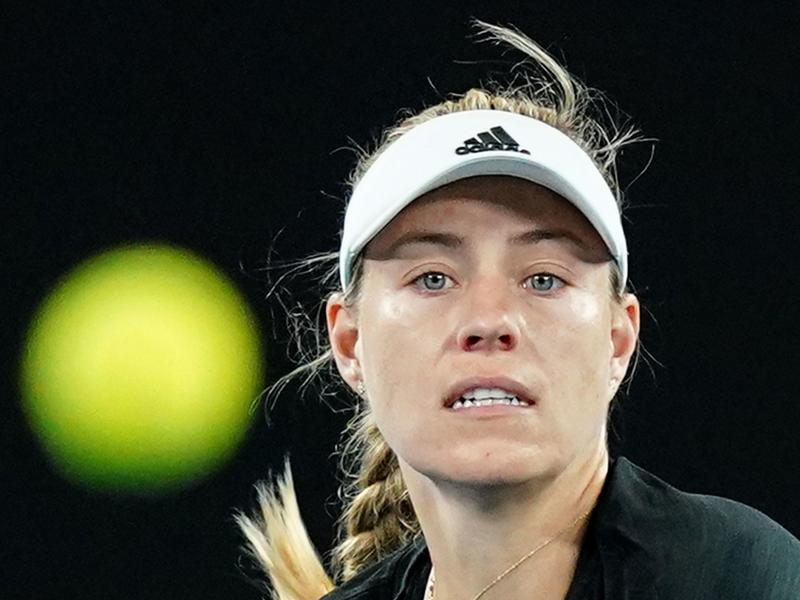 Angelique Kerber muss in Melbourne in Quarantäne. Foto: Scott Barbour/AAP/dpa