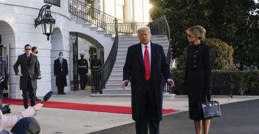 Präsident Trump wird als erster Präsident seit Andrew Johnson im Jahr 1869 der Amtseinführung seines Nachfolgers vor dem Kapitol in Washington fernbleiben. Foto: Alex Brandon/AP/dpa