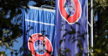 Die UEFA hält weiter an ihren EM-Plänen fest. Foto: Soeren Stache/dpa