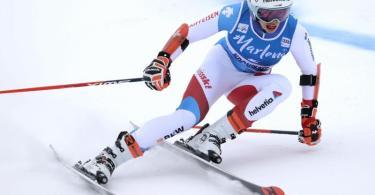 Die Schweizerin Michelle Gisin ist eine der Favoritinnen beim ersten WM-Wettkampf in Cortina d'Ampezzo. Foto: Alessandro Trovati/AP/dpa