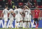Nach dem Sieg gegen Al Ahly Kairo steht der FC Bayern im Finale der Club-WM in Katar. Foto: Hussein Sayed/AP/dpa
