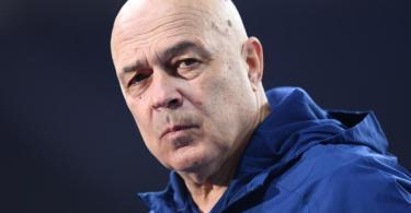 Auch Trainer Christian Gross konnte beim FC Schalke 04 noch keine Wende einleiten. Foto: Annegret Hilse/Pool via REUTERS/dpa