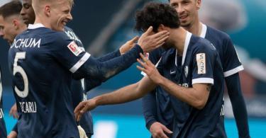 Der VfL Bochum hat in der 2. Liga die Tabellenführung übernommen. Foto: Bernd Thissen/dpa