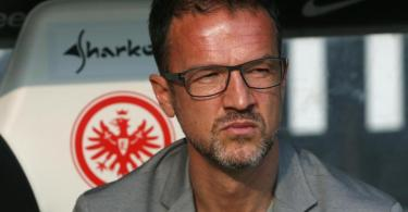 Fredi Bobic wird Eintracht Frankfurt der ARD-'Sportschau' zufolge im Sommer vorzeitig verlassen. Foto: Thomas Frey/dpa