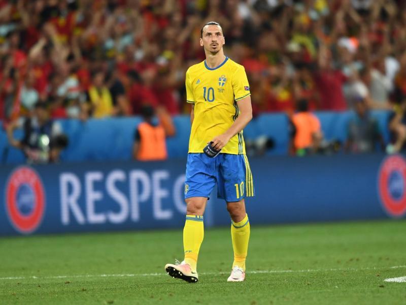 Zlatan Ibrahimovic hatte eigentlich nach der EM 2016 seinen Rücktritt aus der Nationalmannschaft erklärt. Foto: picture alliance / dpa
