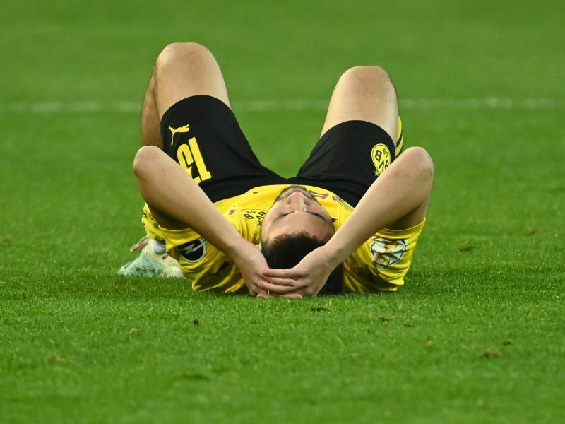 Der BVB muss wohl weiter auf Raphael Guerreiro verzichten. Foto: Federico Gambarini/dpa-Pool/dpa