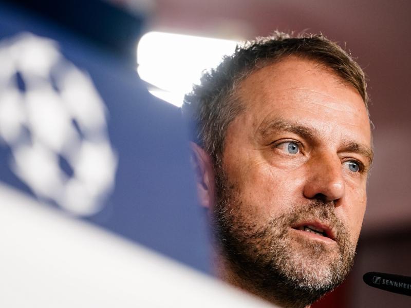 Freut sich nach der Aussöhnung mit Sportvorstand Hasan Salihamidzic auf die Auslosung: Bayern-Trainer Hansi Flick. Foto: Marco Donato/FC Bayern München AG/FCB/dpa