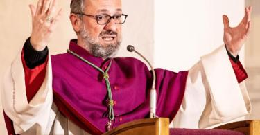 Das neue Gutachten belastet Erzbischof Stefan Heße. Foto: Axel Heimken/dpa