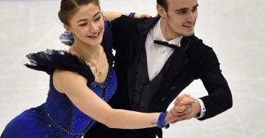 Die deutschen Eistänzer Katharina Müller und Tim Dieck wollen sich einen Olympia-Startplatz sichern. Foto: Martin Meissner/AP/dpa