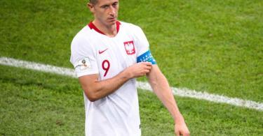Musste beim polnischen Sieg gegen Andorra verletzt ausgewechselt werden: Robert Lewandowski. Foto: Petter Arvidson/Bildbyran via ZUMA Press/dpa