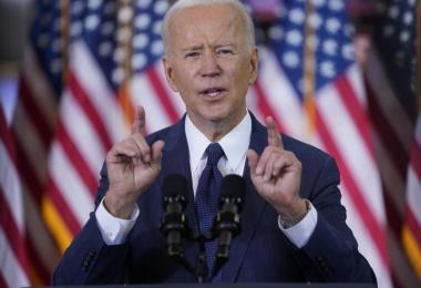 US-Präsident Joe Biden will in den kommenden acht Jahren mit Ausgaben in Höhe von rund zwei Billionen Dollar die Infrastruktur des Landes erneuern und damit Millionen Arbeitsplätze schaffen. Foto: Evan Vucci/AP/dpa