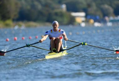Ist in Varese auf Medaillenkurs: Oliver Zeidler. Foto: Jakub Kaczmarczyk/PAP/dpa