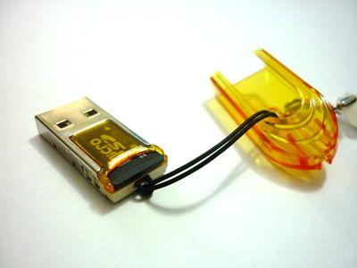Adaptador microSD para porta USB