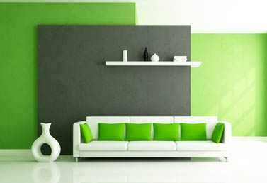 AuBergewohnlich Design : Wohnzimmer Grün Grau Streichen ~ Inspirierende Bilder Von, Modern  Dekoo