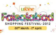 Ufone Brings Faisalabad Shopping Festival