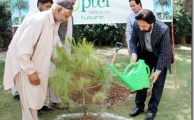 PTCL Celebrates Eart Day 2012 by Tree Plantation