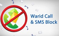 Warid Upgraded its Call & SMS Block Service