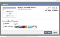 Facebook to Offer Paid Posts for Highlighting