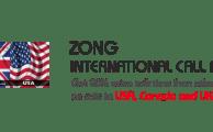 Zong Offers International Call Bundles