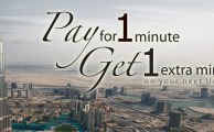 Ufone Brings UAE Offer to Pay for 1 Minute and Get Next Minute Free