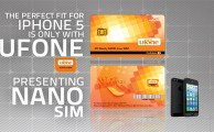 Ufone Brings Nano SIM for iPhone 5 Users