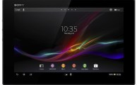 Sony Launches Waterproof Xperia Tablet Z at MWC 2013