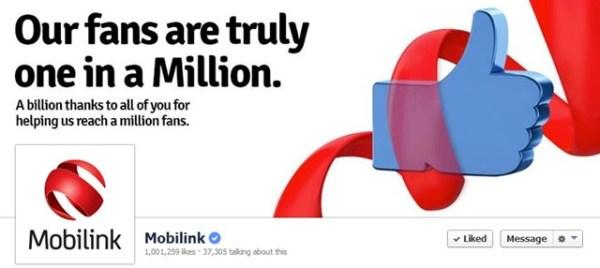 Mobilink-Facebook