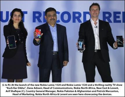 Nokia Lumia 1520 & Lumia 1320