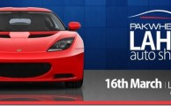 PakWheels to glow Auto Show in Lahore on March 16, 2014
