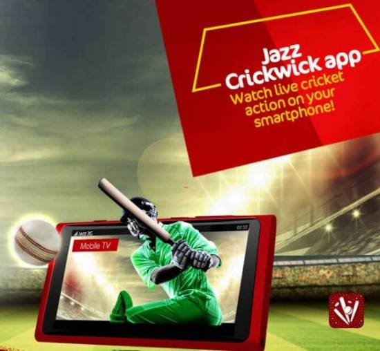 Watch Live Cricket Matches on Your Smartphone via Jazz