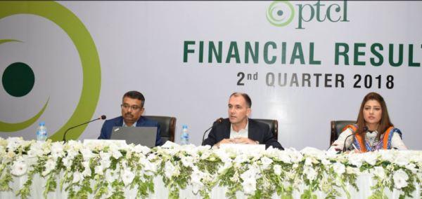 PTCL-FinancialResults2018Q2