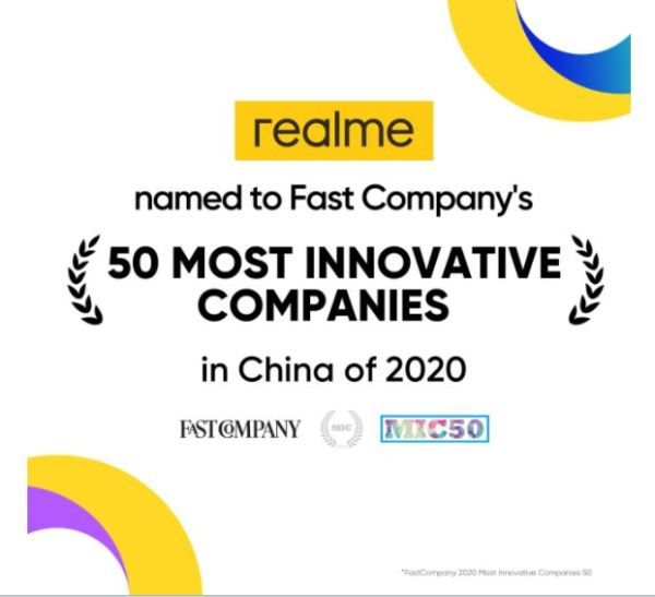 realme-50MostInnovativeCompanies