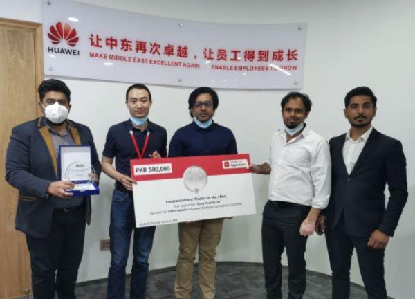 Winners-HuaweiDeveloperCompetition2020