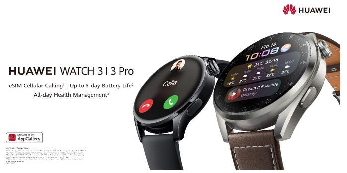 HuaweiWatch3-3Pro