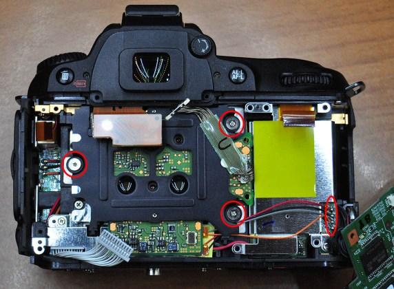 Nikon D90 Sensör sökümü