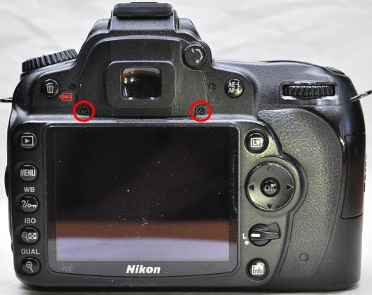 Nikon D90 Diyoptri