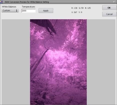 Photomatix Pro HDR Custom White Balance