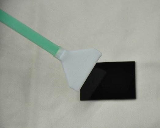sensör sapatulası ile sensör temizleme