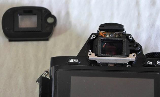 Sony A7R vizör
