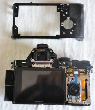 Sony A7R arka panel