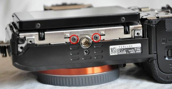 Sony A7R tripod