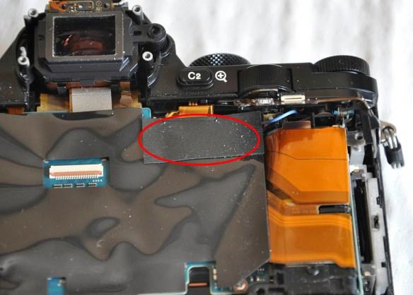 Sony A7R kızılötesi