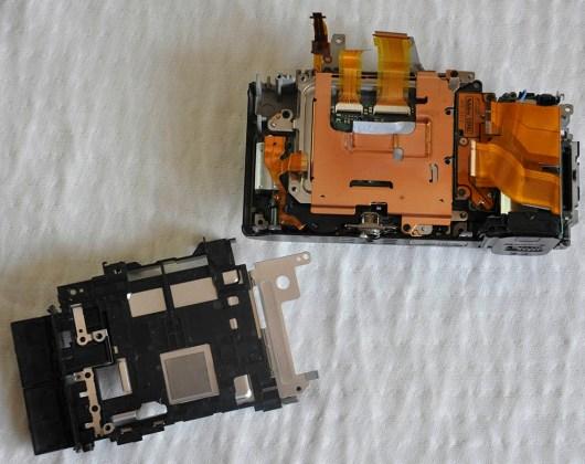 Sony A7R sökülmesi