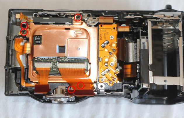 Sony Nex 5 Sensor