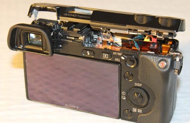 sony Nex-7 top cover