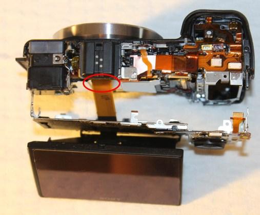 sony Nex-7 replacing lcd screen