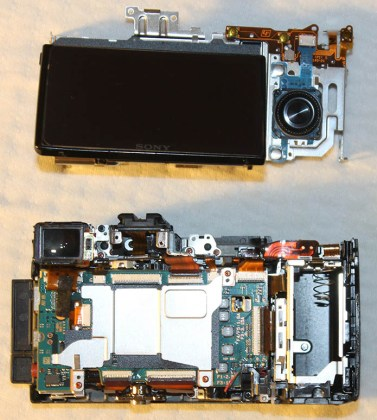 sony replacing lcd screen